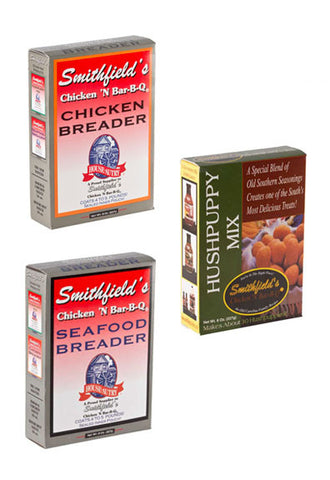 Smithfield's Chicken & Bar-B-Q 4 Pack Breader