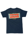 Smithfield's Jukebox T-Shirt Denim Blue