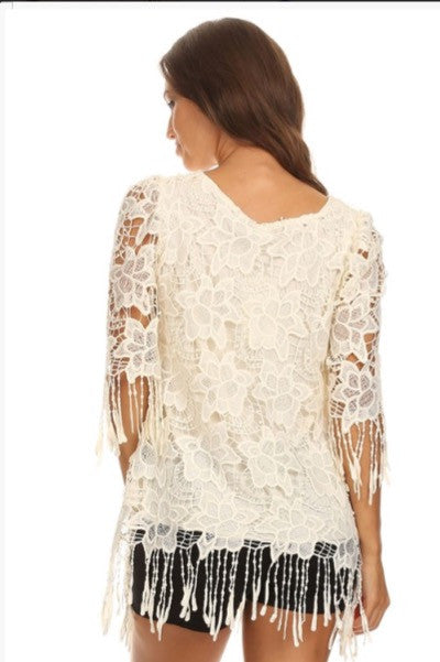 Laced Fringed