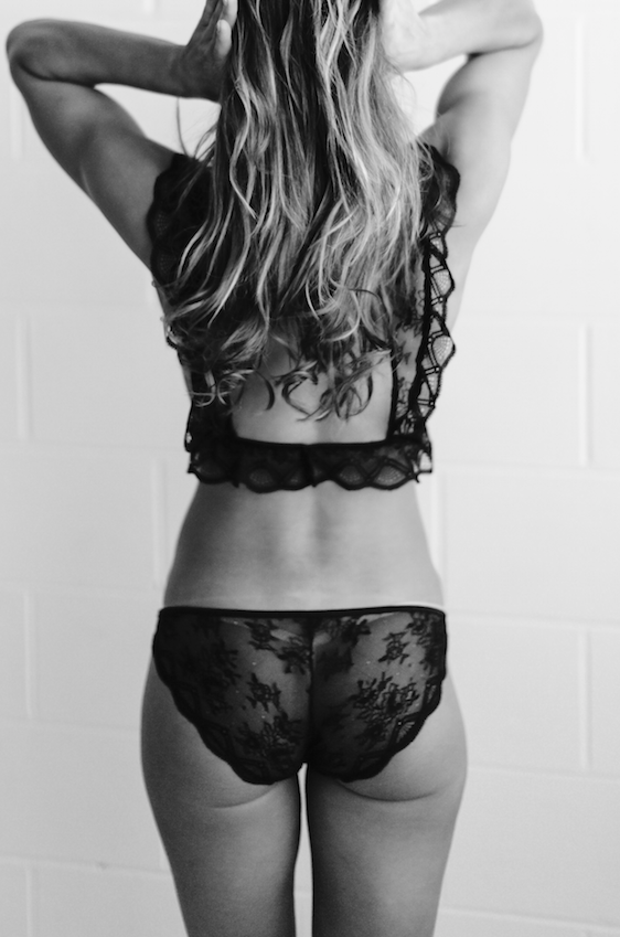 Dulcet Knicker in Black
