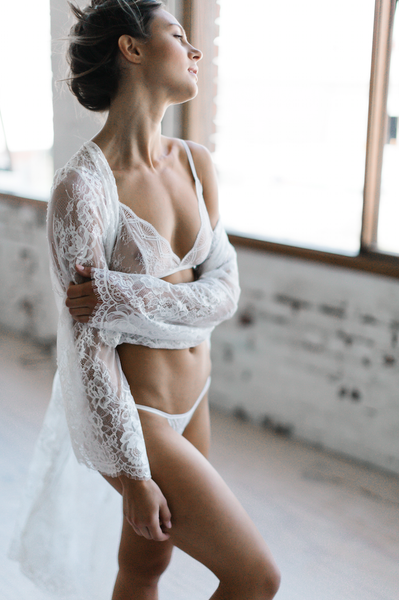 Ethereal Bralette in Natural