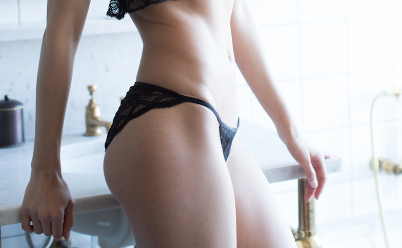 Ethereal Knicker in Black
