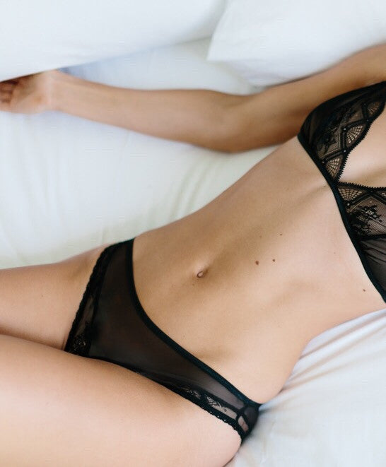 Lissome Knicker in Black