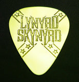 LYNYRD SKYNYRD - Solid Brass Guitar Pick<br>Acoustic, Electric, Bass, Mandolin
