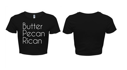 [Apparel] Women's Butter Pecan Rican Crop Tee / Tank