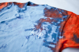 CRYSTAL DYED LOGO TEE Big Apple - Keep Company  - 2
