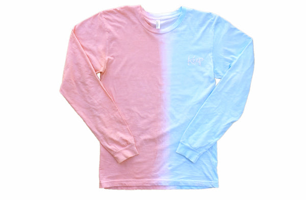 DIP DYED LONGSLEEVE Melon Drop