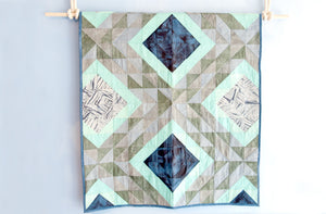 MARICOLOUS Ocean Waves Crib Quilt - Keep Company  - 1
