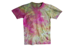 CRYSTAL DYED LOGO TEE Purple Haze - Keep Company  - 1