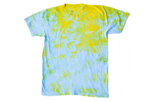 CRYSTAL DYED LOGO TEE Summer Light - Keep Company  - 1