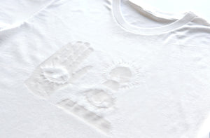 THE WARDS TEE Unisex White on White - Keep Company  - 2