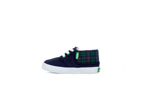 KIDS RAMOS Navy Scottish Plaid - Keep Company  - 2
