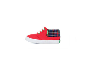 KIDS RAMOS Red Railroad Plaid - Keep Company  - 1