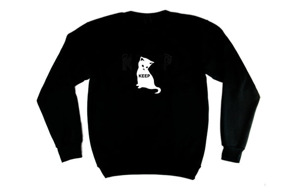 KEEP PULLOVER La Sad Cat - Keep Company