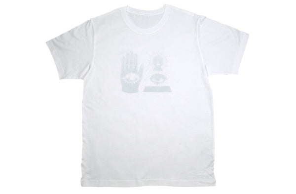 THE WARDS TEE Unisex White on White - Keep Company  - 1