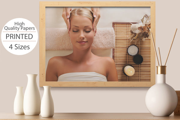 PRINTED POSTER - Beauty Salon Room Wall Decor Print Unframed - Beauty