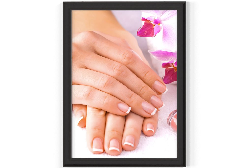 PRINTED POSTER - Beauty Salon Room Wall Decor Print Unframed - Manicure