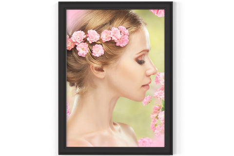 PRINTED POSTER - Beauty Salon Room Wall Decor Print Unframed - Bride
