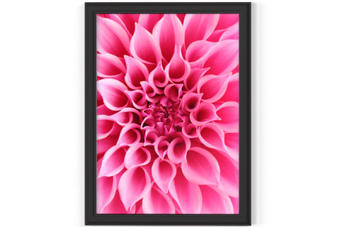 PRINTED POSTER - Beauty Salon Room Wall Decor Print Unframed - Dahlia