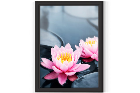 PRINTED POSTER - Beauty Salon Room Wall Decor Print Unframed - Waterlilly
