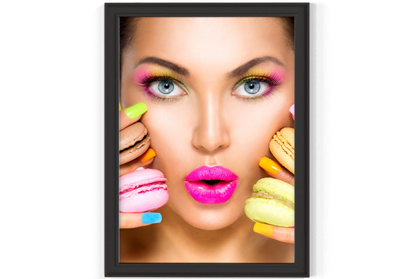 PRINTED POSTER - Beauty Salon Room Wall Decor Print Unframed - Colour Nail