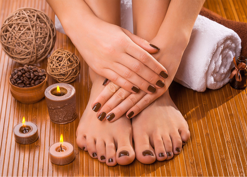 Chantilly manicure pedicure facial