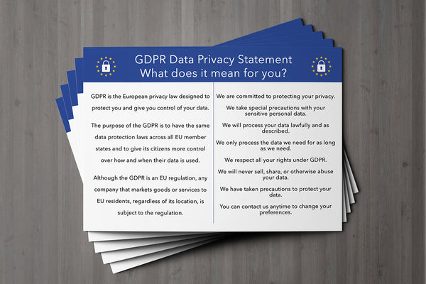 GDPR Compliant Client Card / General Card for All Client Cards