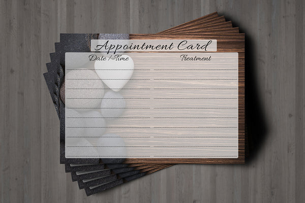 Appointment Card for Beauty Salons, Lash Lift, Eyelash Extension, Massage