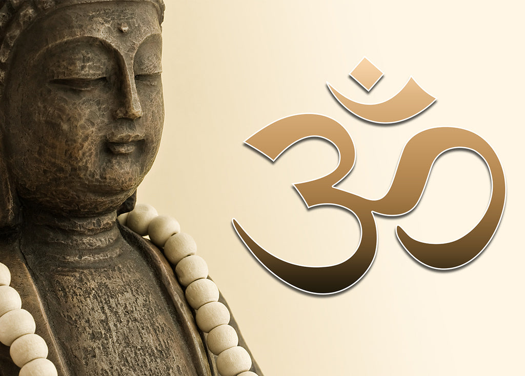 Gift Voucher Card for Massage/Beauty Salons, Hairdressers, Holistic Treatment - Buddha/Om Photo