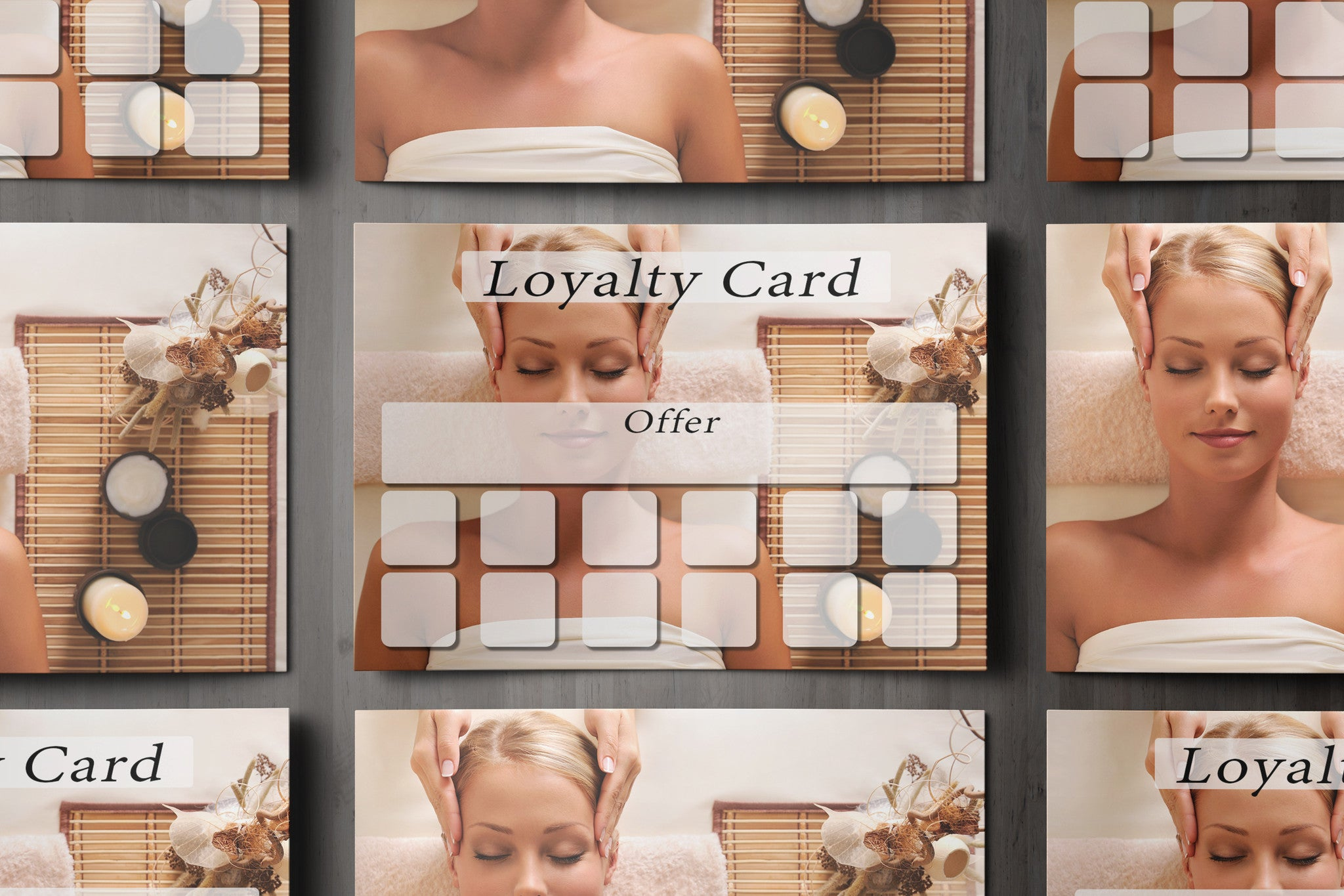 loyalty card for massage beauty salons hairdressers therapists loyalty card for massage beauty salons hairdressers therapists