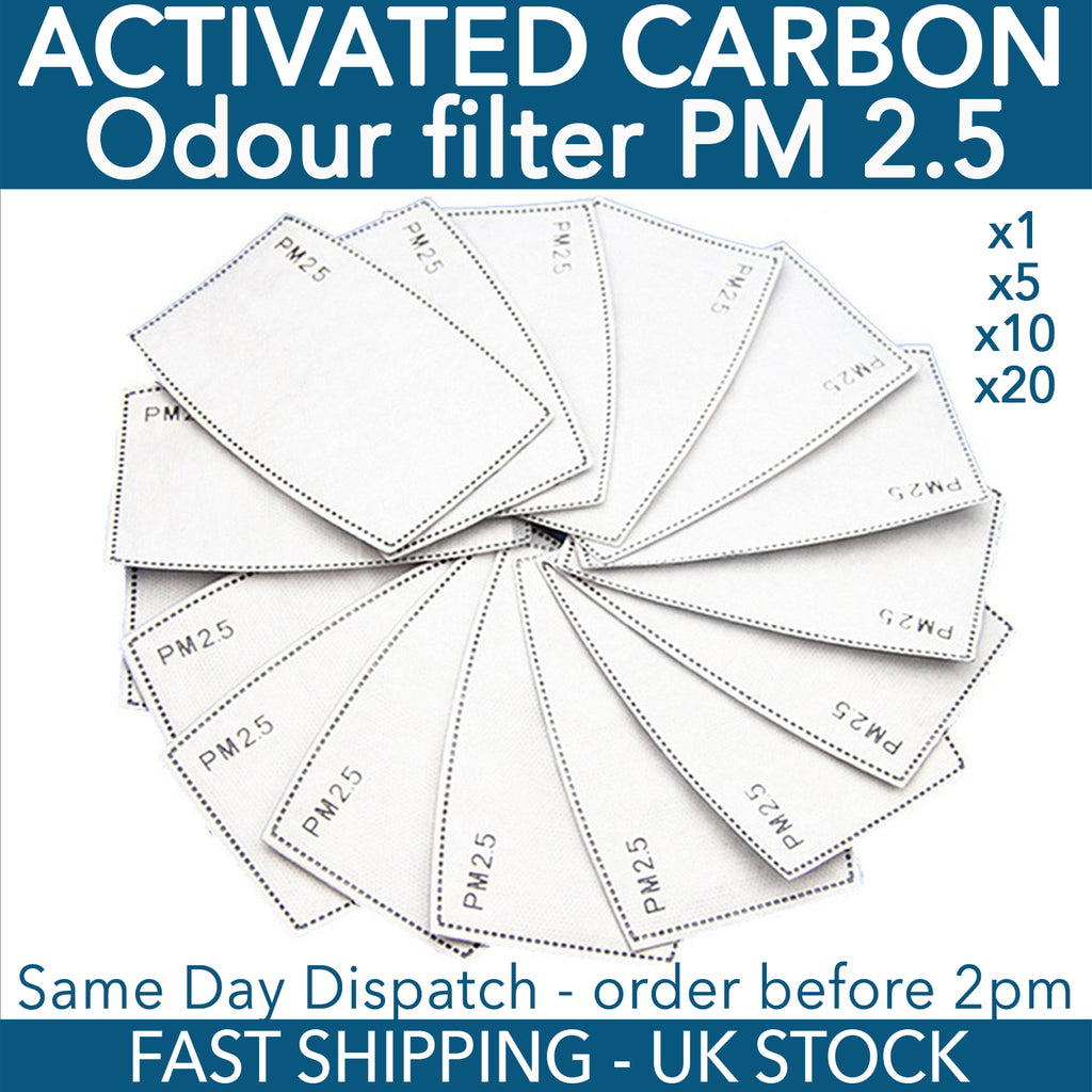 PM2.5 Filter Anti Haze Mouth Mask Anti Dust Filter Health Care