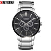 Curren Brand Luxury Elegant Watch Casual Watches Men Full Stainless Sports Quartz Military Watch Men's Relogio Masculino,W8001M