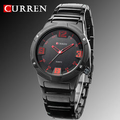 2016 new curren watches men luxury brand military watch men full steel wristwatches fashion casual waterproof army sports quartz
