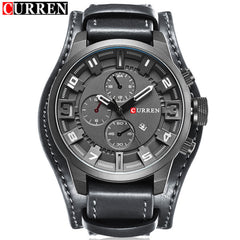 2016 CURREN Mens Watches Top Brand Luxury Fashion Casual Sport Quartz Watch Men Military WristWatch Clock Male Relogio Masculino