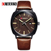 2016 new fashion Curren brand design casual men male business sport clock military army classic luxury wrist quartz watch 8212