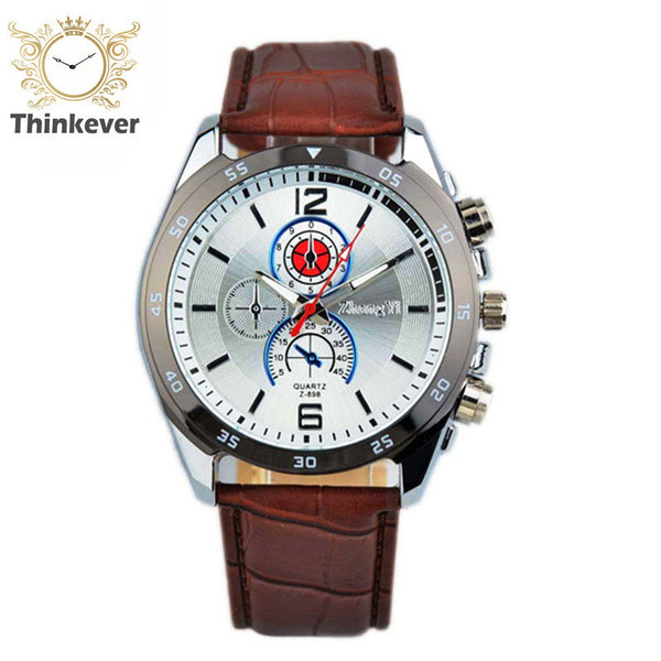 2016 Time-limited Cw1073 Zhongyi Sports Waterproof Watch Men Fashion Leather Quartz Wristwatch Casual Watches Relogio Masculino