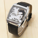 2017 New Fashion style Boys and girls Elvis Presley watch strap watch gift