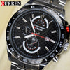 Curren Top brand full Stainless steel Quartz Watch MEN'S Male clock fashion military Army dress Wristwatch Relogio Masculino
