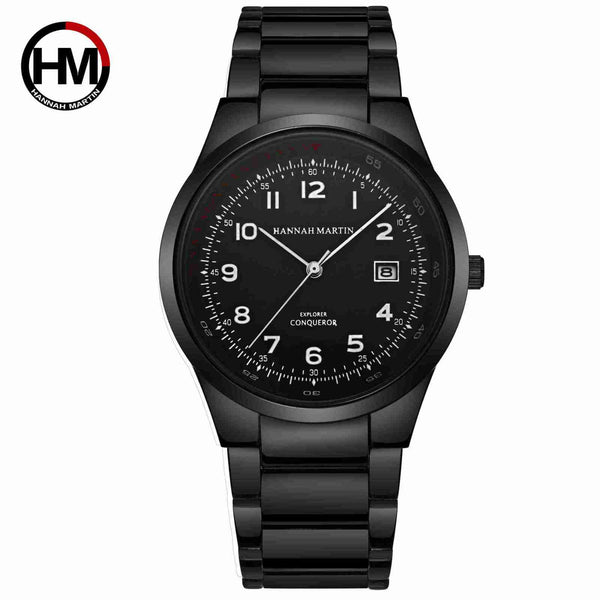 Men'S Quartz Fashion Business Sports Casual Calendar Watch