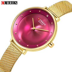 2018 Top Brand Luxury CURREN New Fashion&Casual Simple Business Watches Classic Dial Ultra-thin Quartz Wristwatches Clock 9030