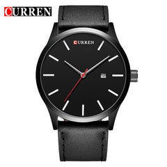 Men's Casual Watches Curren 8214 Luxury Brand Quartz Watch Leather Strap Dress Wristwatches sport relogio masculino