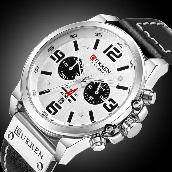 CURREN Watches Top Brand Luxury  Watch Men Casual Men Business Watches Classic Dial Stainless Steel Quartz Wristwatches Clock