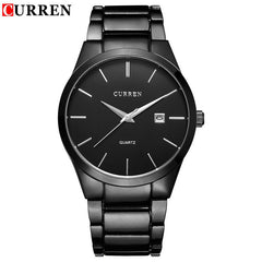 2016 New Fashion CURREN Famous Watches Design Sport Steel Clock Top Quality Military Men Male Luxury Gift Wrist Quart Watches