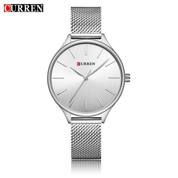 CURREN 9024 Watch Women Casual Fashion Quartz Wristwatches Creative Design Ladies Gift relogio feminino