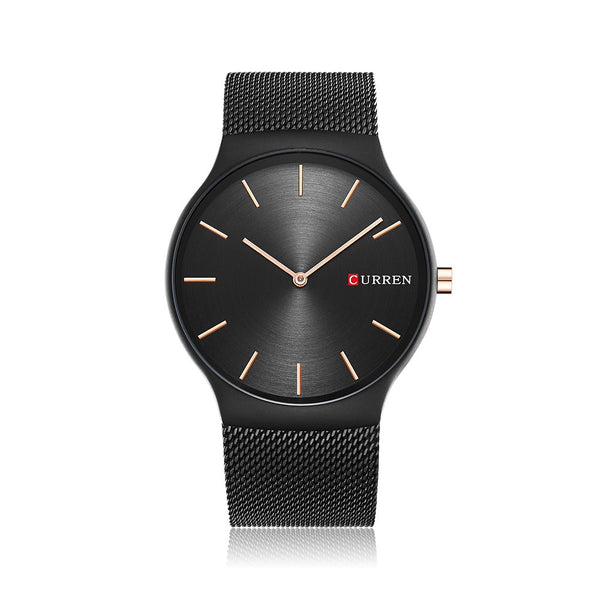 CURREN Fashion Luxury Stainless Steel Men Watches Quartz 3ATM Water-resistant Casual Man Wristwatch Relogio Musculino