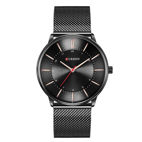 Curren New Fashion Simple Style Business Men Watches Ultra-thin Quartz Male Wristwatches Clock Relogio Masculino