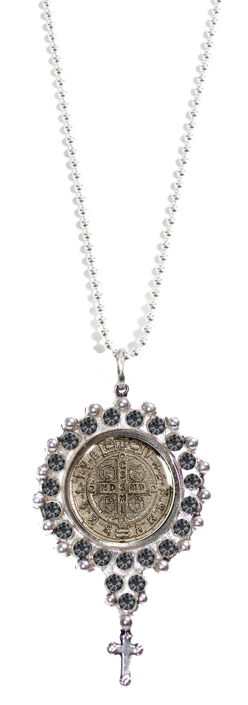 "Fay Spirit Charm Necklace - San Benito - 34"" Chain"