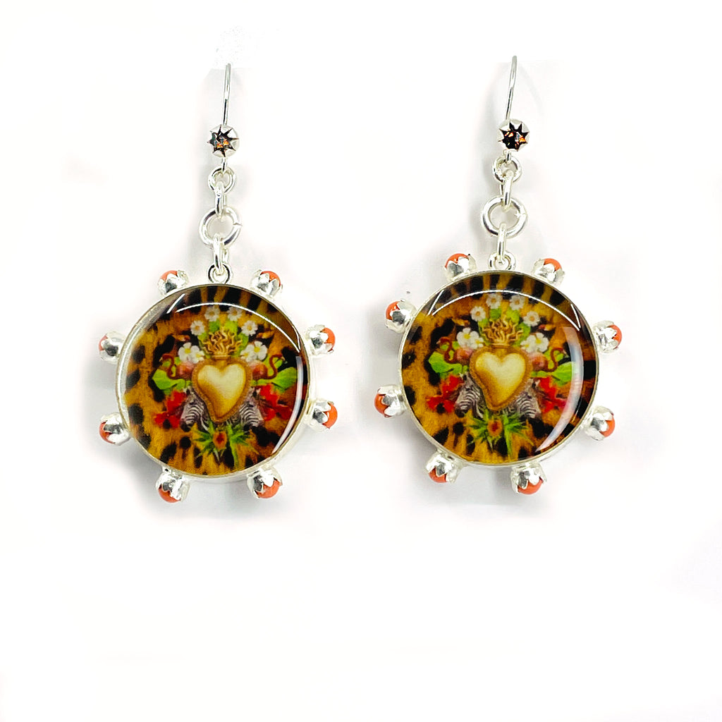 Piccolo Amore Post Lucia Earrings - VSA Designs
