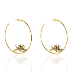 Be An Angel Hoop Earrings - NEW SPRING 2021