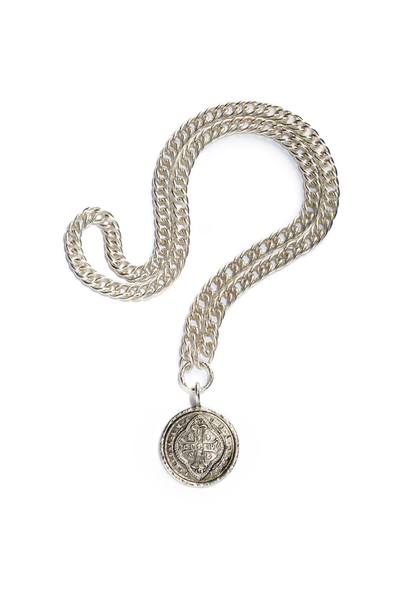 "Sevilla Cathedral Chain Necklace - 26"" Chain"